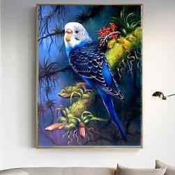 5D картина с камъчета - Птичка