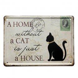 Ламаринен етикет за любителите на котки