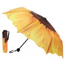 Чадър с мотив на слънчоглед