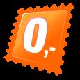 Прозрачни цветни мъниста - 100 бр
